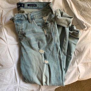 Hollister Low Rose Boyfriend Jeans